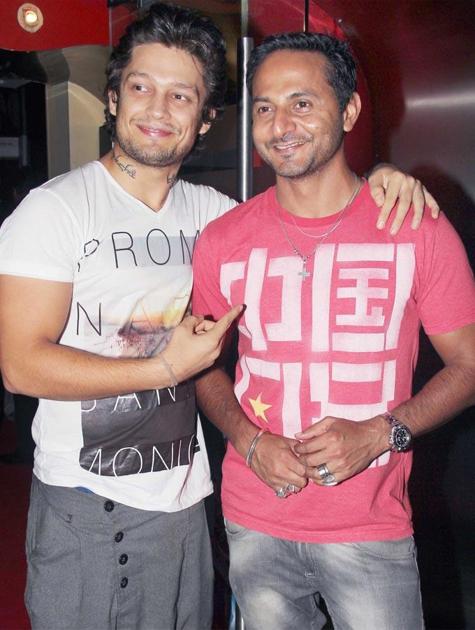 Nikhil Chinappa and Siddharth at Rock of Ages Premiere