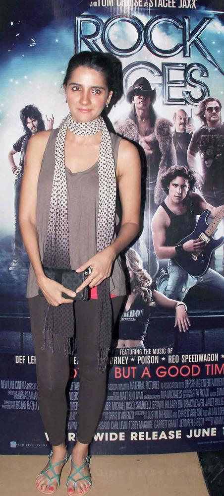 Shruti Seth at Premiere of Rock of Ages