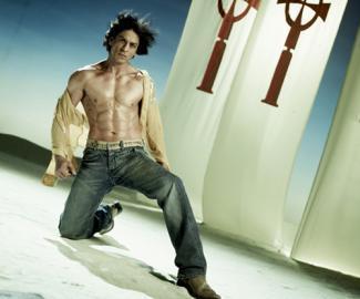 Shahrukh Khan Abs Nude Display