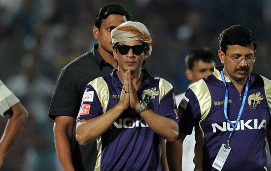 Shahrukh Khan At IPL