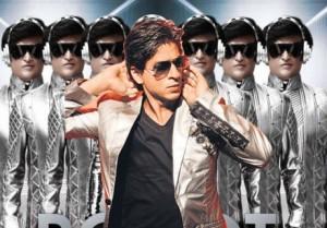 SRK and Rajni Stylist Pic