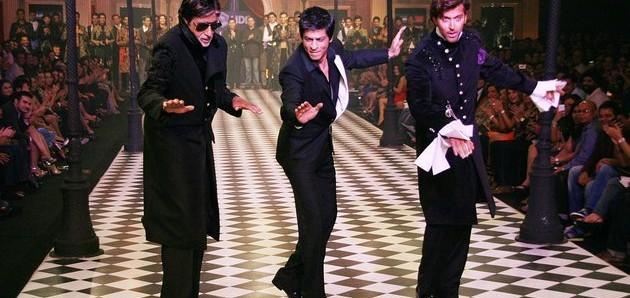 Srk,Big B and Hrithik Dancing Pic