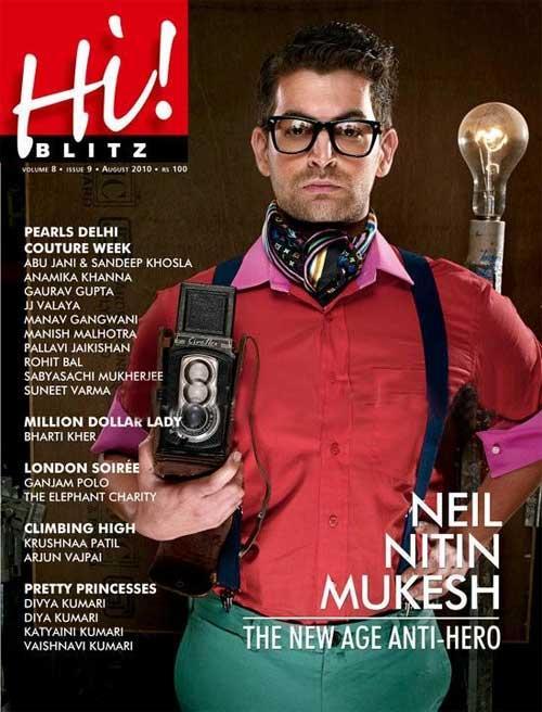 Neil Nitin Mukesh Hi Blitz Magazine Pic