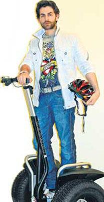 Neil Nitin Mukesh Stylist Pic