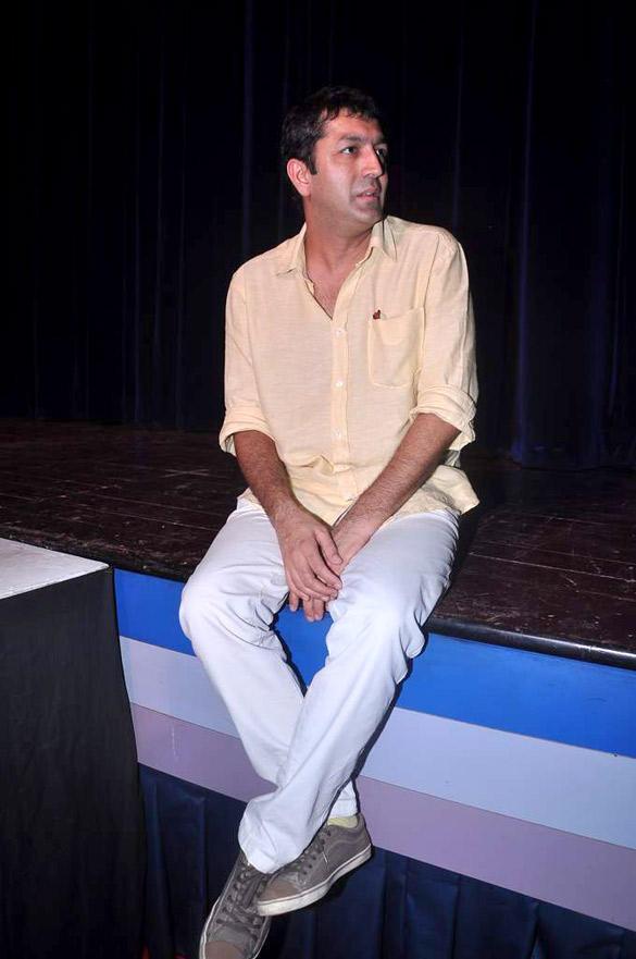 Kunal Kohli Promote Teri Meri Kahaani at Jai Hind College