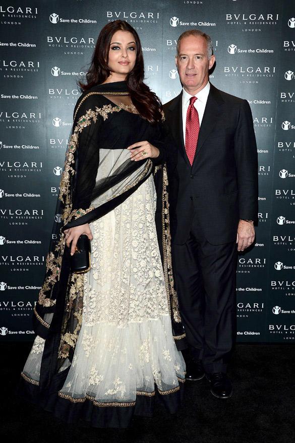 Aishwarya Rai Attended The Opening of the Bulgari Hotel and Residences