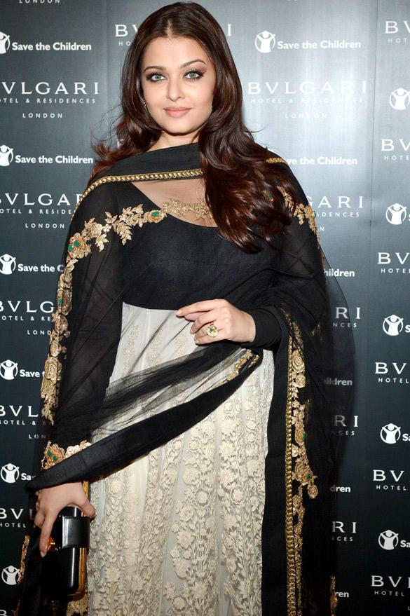 Aishwarya Rai Bachchan Looks Slim and Beautiful at Bulgari Event