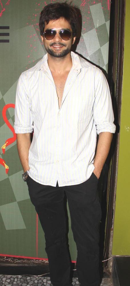 Rakesh Bapat Looking Handsome at The Opening of Fluke Store