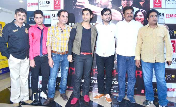 Casts at Chakradhar Film Premiere