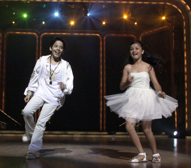 Darsheel  and Avneet at Launch of Jhalak Dikhhla Jaa Season 5