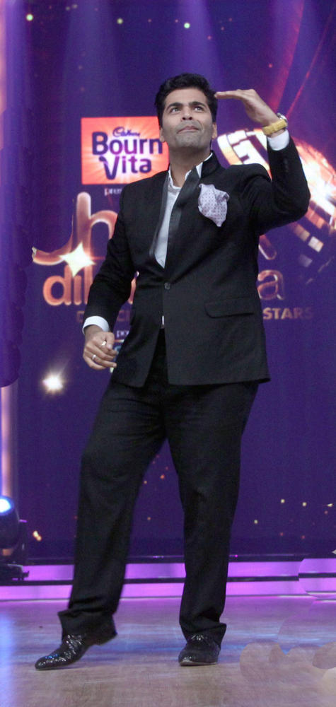 Karan Johar at The Launch Of Jhalak Dikhhla Jaa Season 5