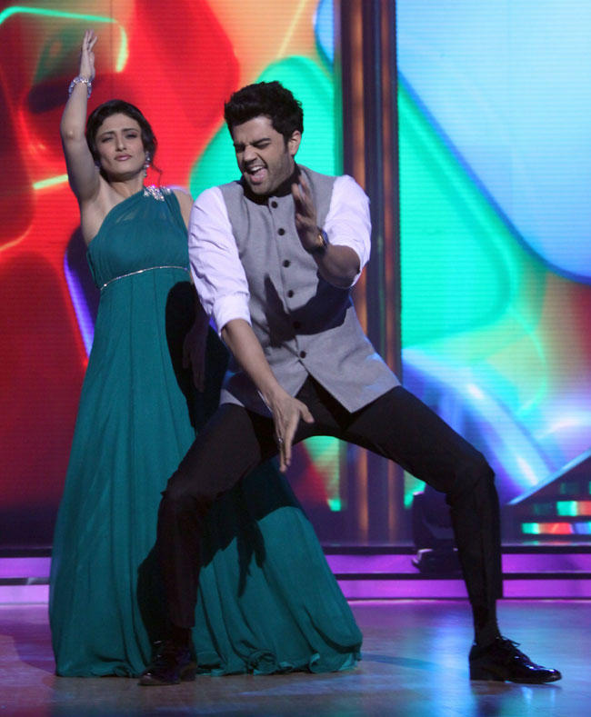 Ragini and Manish Performs at The Launch Of Jhalak Dikhhla Jaa Season 5
