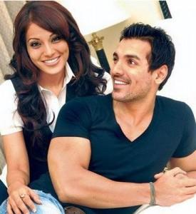 John and Bipasha Smiling Photo