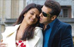 Salman Khan and Priyanka Salaam e Ishq Still