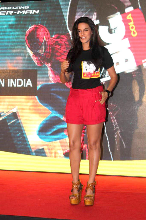 Bollywood Hottie Neha Dhupia at The Launch Of Big Cola