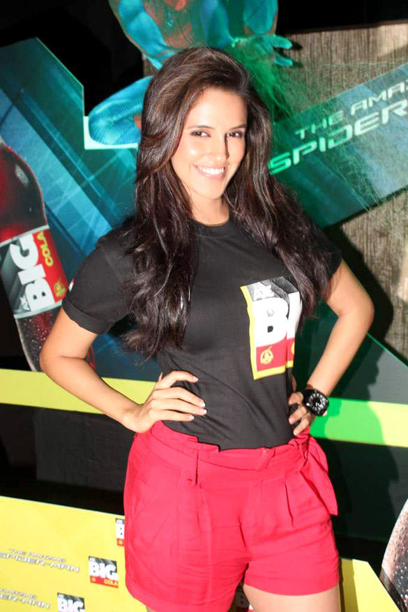Neha Dhupia at The Launch Of Big Cola