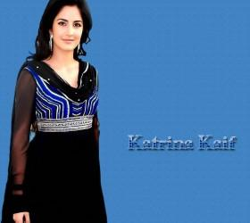 Katrina Kaif Attractive Face Still In Simple Dress
