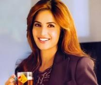 Katrina Kaif In Brown Hair Smiling Look Pic