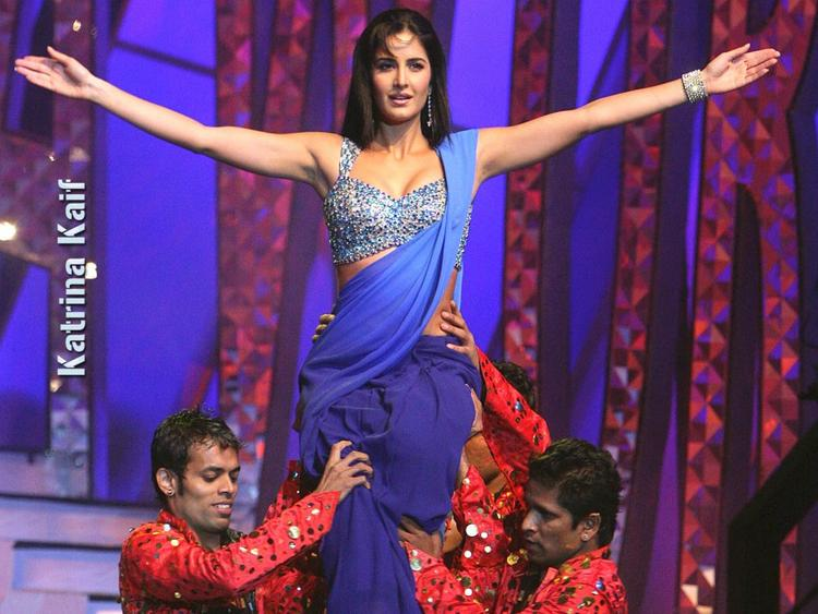 Katrina Kaif  Latest Performance In Saree