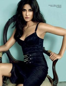 Katrina Kaif Picture Like a Kitten On Vogue