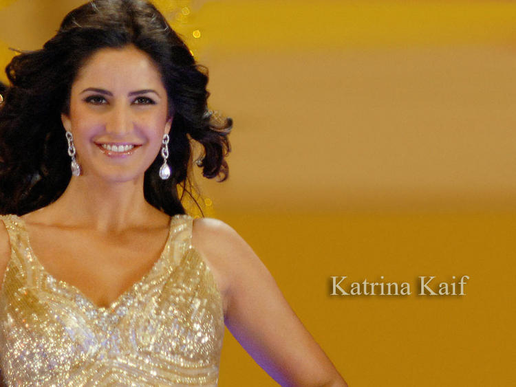 Katrina Kaif Smiling Look Wallpaper