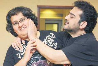 Adnan Sami With Son Azaan