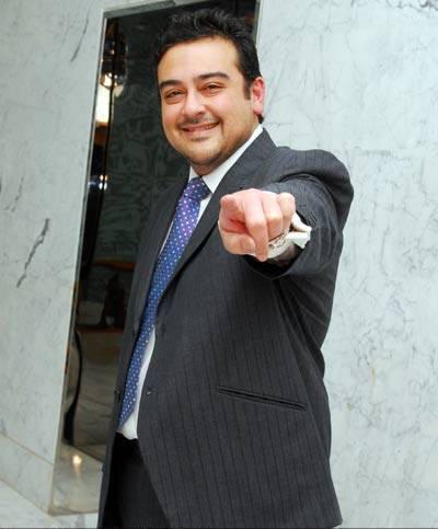 Stylist Adnan Sami