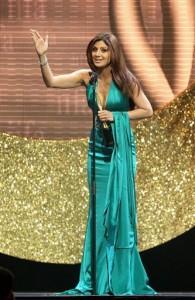 Shilpa Shetty Sexy Gown Pic at IIFA