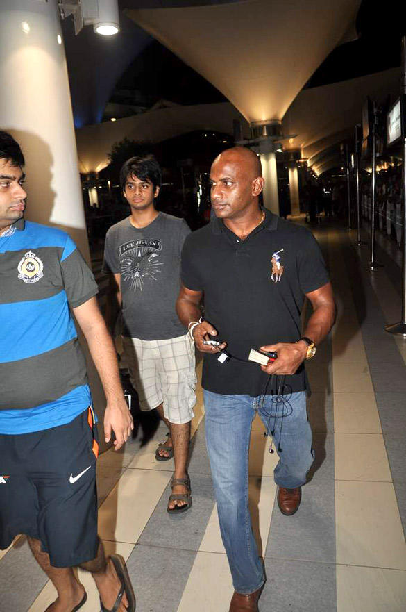 Sanath Jayasurrya In Cool Casual Look Snapped at Airport