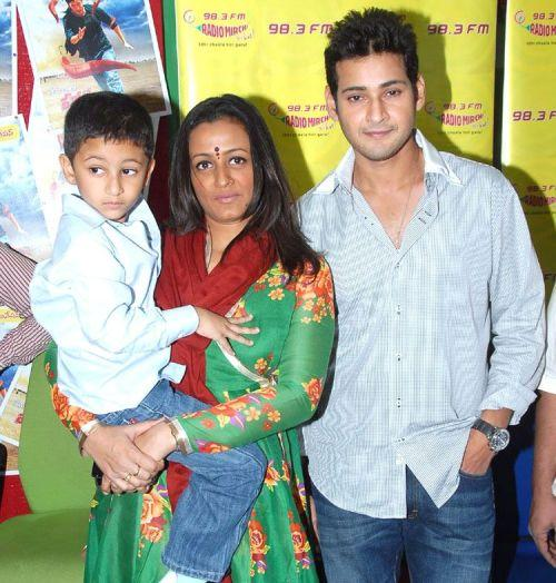 Mahesh Babu With Family