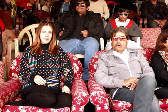 Vishal Bhardwaj and Kalki Enjoy Polo Match at Ladakh