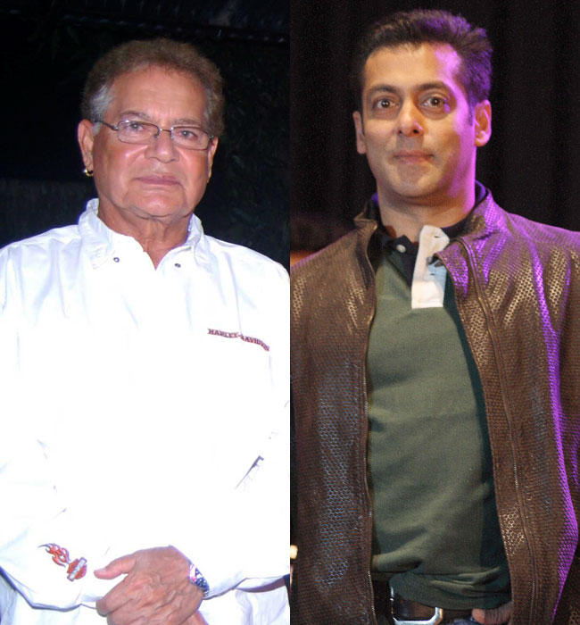 Salim Khan Even Writing a Script For Salman and Believes He Is Talented and Hopes The Script Explores His Potential Even Futher