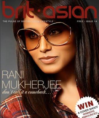 Rani Brit Asian Magazine Pic