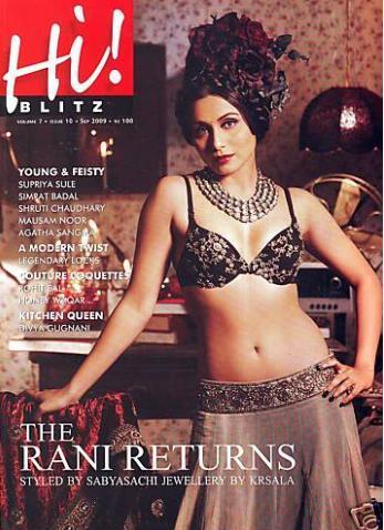 Rani Mukherjee Hi Blitz Magazine Hot Pic