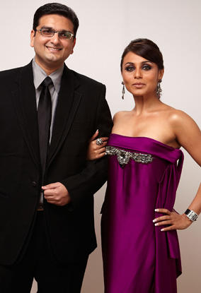 Rani Mukherjee In Strapless Sexy Gown Pic