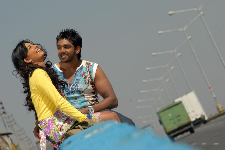 Radhika and Dhruv Addhuri Movie Latest Still