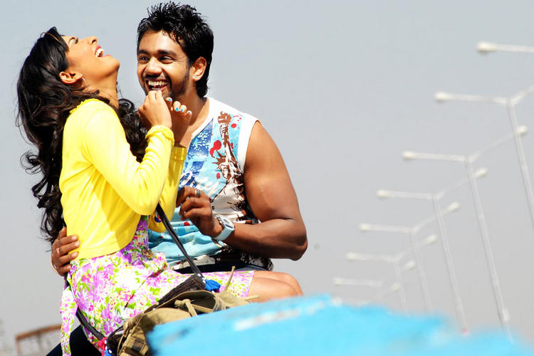 Radhika and Dhruv Addhuri Movie Smiling Pic