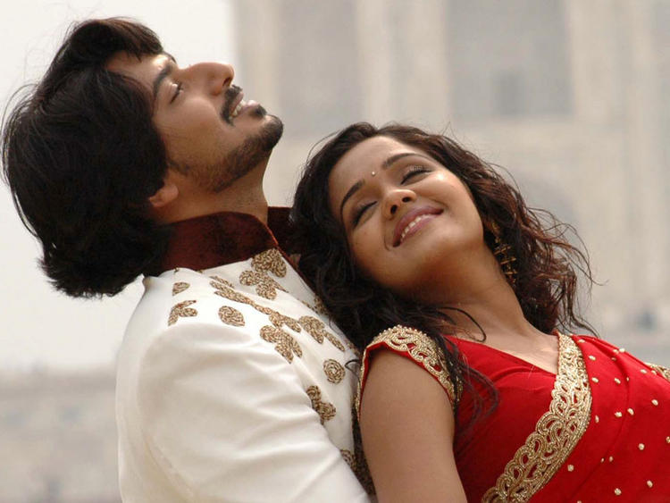Ananya and Prajwal Devaraj Romance Pic In Gokula Krishna