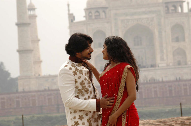 Ananya and Prajwal Devaraj Romantic Song Pic In Gokula Krishna