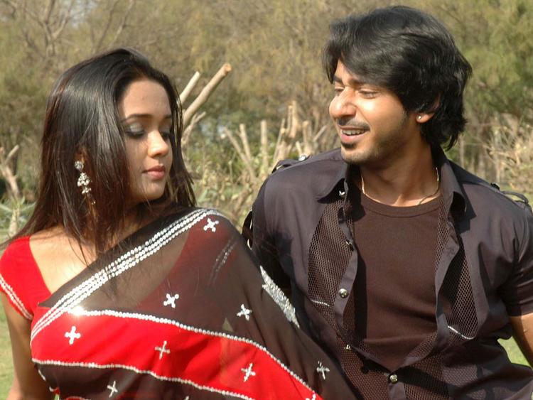Ananya and Prajwal Devaraj Song Still In Gokula Krishna Movie