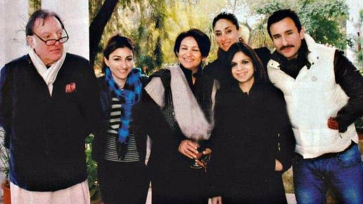 Kareena Latest Pic With Saif Family