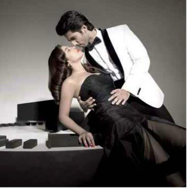 Priyanka Chopra and Shahid Kapoor Hot Pose For Filmfare