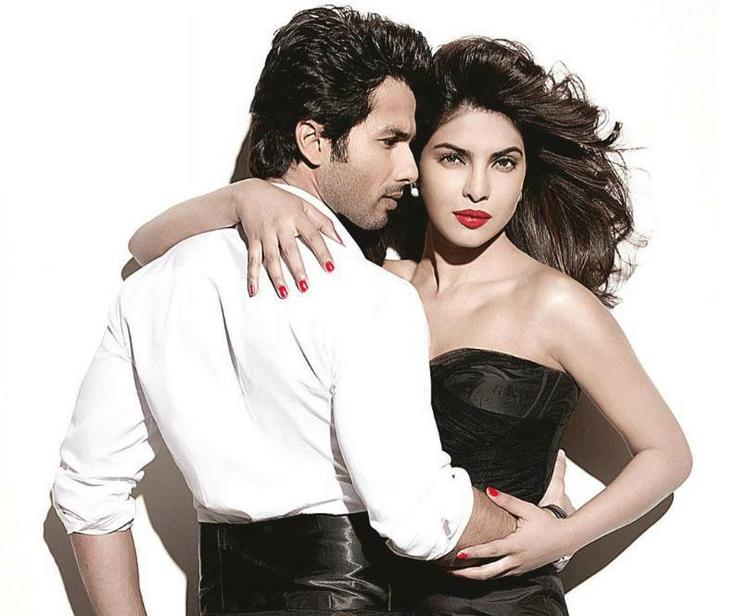 Priyanka Chopra and Shahid Kapoor Shoot For Filmfare