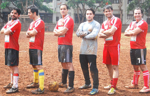 TV Stars Plays Gold's Charity International Soccer Match