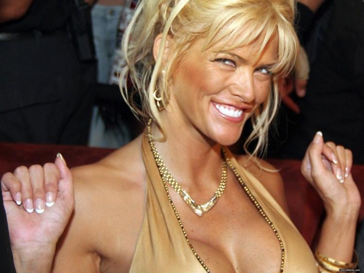 Anna Nicole Smith Smiley Face Sexy Still