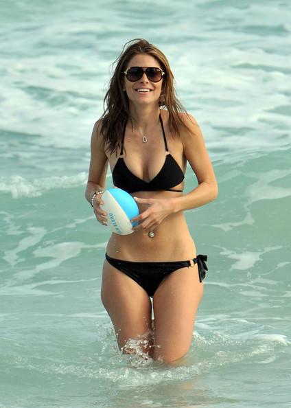 Maria Menounos Showing Off Bikini Body