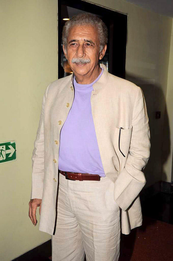 Naseeruddin Shah Spotted at The Music Launch of Maximum