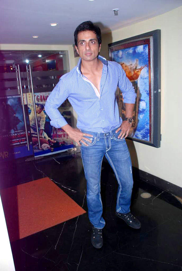 Sonu Sood Spotted at The Music Launch of Maximum