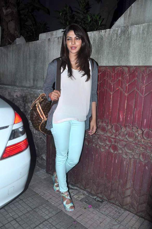 Priyanka Chopra Attend The Special Screening of Teri Meri Kahaani