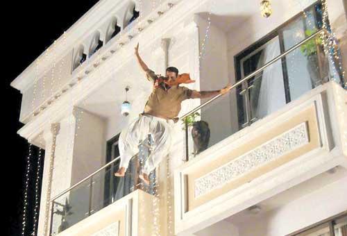 Akshay Kumar Dangerous Stunts for Khiladi 786